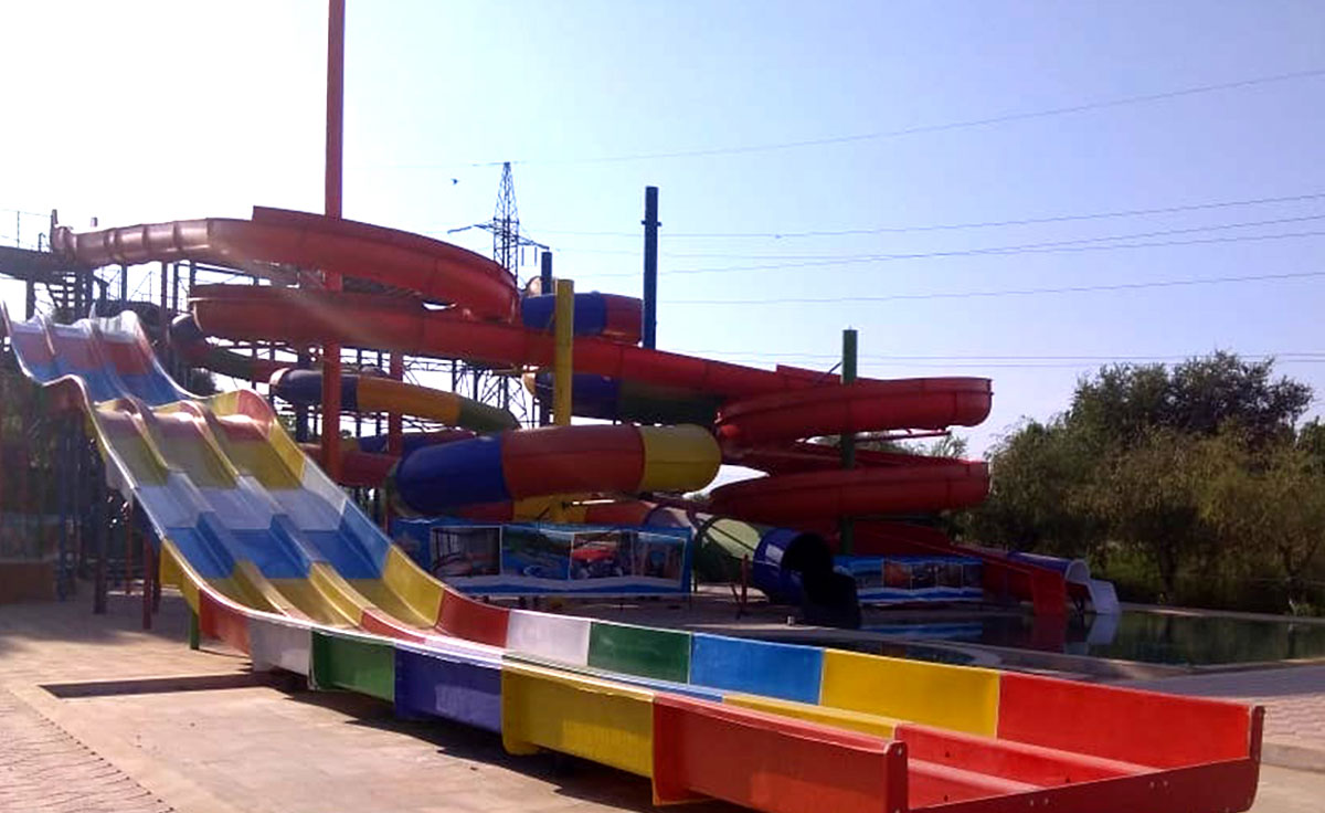 Waterpark in Kazakhstan