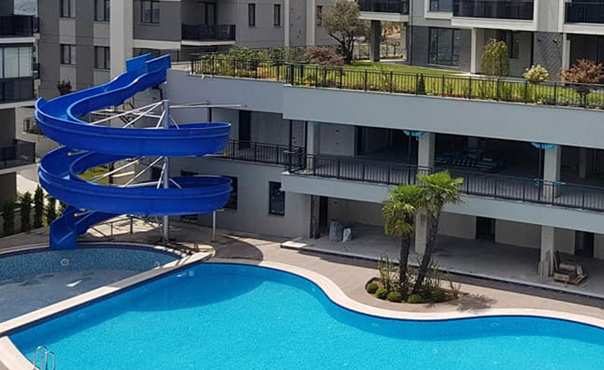 Blue Mudanya Apartments