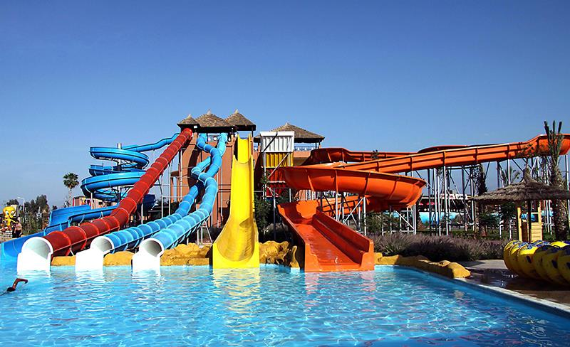 Aquapark and Water Slides